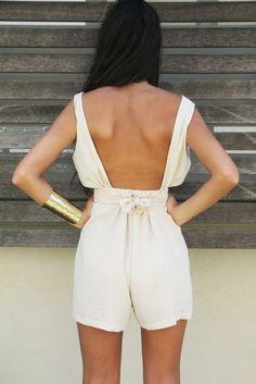 Open-back jumper for summer? love it.