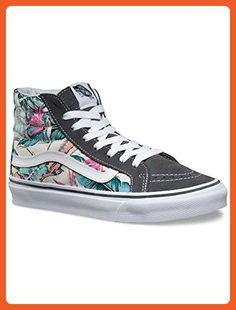 4507811fc0 Damen Vans Tropical Hi Slim Multi Weiß Schuhe