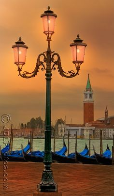 Venice in the early evening or at dawn is simply magical.