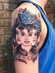 Stephanie Tamez - Saved Tattoo NYC