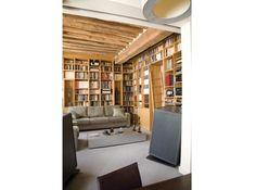 Salon bibliotheque