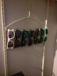 Sunglasses Storage.