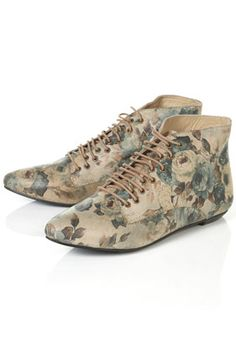 Memory Floral Boots