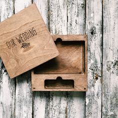 This box will be made with OUR WEDDING logo.   All box we ship Expedited Intl…