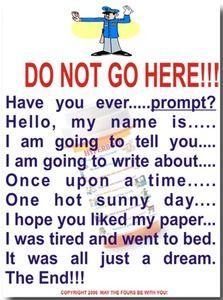Do not! Poster