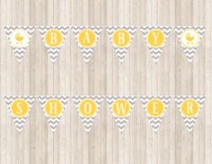 Hey, I found this really awesome Etsy listing at https://www.etsy.com/listing/187324718/chevron-baby-shower-banner-in-yellow-and