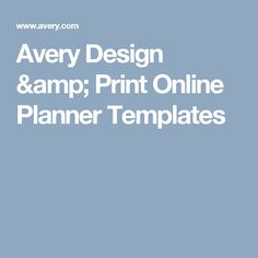 Avery Design Print Online Recipe Binder Templates Arts and