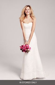 Anne Barge 'Waverly' Silk Taffeta Wedding Dress (In Stores Only) | Nordstrom