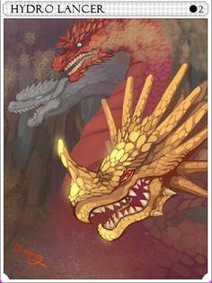 Hydrolancer Card - Ragnarok Online Ragnarok Card, Best Games, Runes, Game Art, Otaku, Concept, Addiction, Anime, Painting