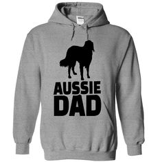 Aussie Dad Full Color T Shirts, Hoodies. Check price ==► https://www.sunfrog.com/Valentines/Aussie-Dad-Full-Color-6353-SportsGrey-Hoodie.html?41382 $39
