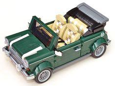 MOC: 10242 Mini Cooper Convertible modification by Dirk1313