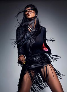 tyra banks black magazine photo 009 Tyra Banks Covers Black Magazine, Talks ANTM + Beauty