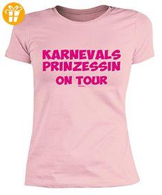 Party/Faschings/Spaß/Fun-Shirt/Damen Rubrik lustige Sprüche: Karnevalsprinzessin on Tour Girlie-Shirt (*Partner-Link)
