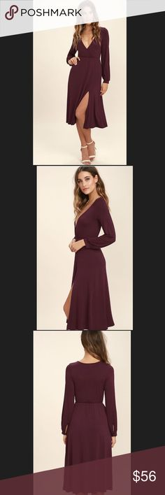 """LuLus - Right For Me Dress. LuLus - Right For Me Dress.                                                 Size : Small Armpit To Armpit 16"""" Approx Length 46"""".                Size : Medium Armpit To Armpit 17"""" Approx 48"""" LuLus  Dresses"""