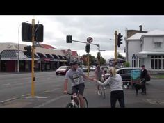 EPIC fixed gear bike race in downtown Auckland City, NZ