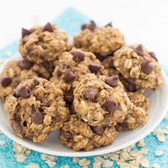 Banana Chocolate Chip Breakfast Cookies - keep them in the freezer for quick breakfasts and snacks!