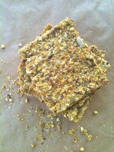Passionately Raw! - Raw Sauerkraut Cracker Recipe