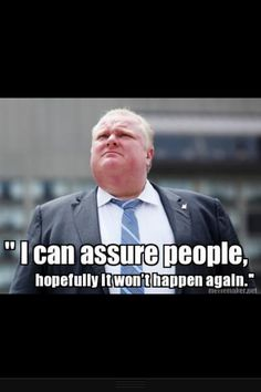 Rob Ford quote