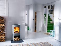 chimney stove shaker - skantherm - we are on fire | furniture, Wohnzimmer
