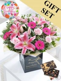 Send flowers with Flowers. Flower Delivery available in Dublin and nationwide. Happy Birthday Flower, Birthday Bouquet, Birthday Gifts, New Baby Flowers, Send Flowers, Anniversary Flowers, Hand Tied Bouquet, Flowers Delivered, Birthday Balloons