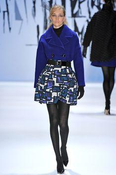 Milly Fall 2012 Ready-to-Wear Fashion Show - Janice Alida