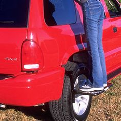 Tire Step - Easily access the roof of your car.