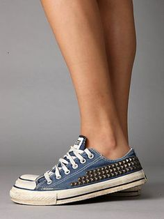 Studded Vintage Converse > Free People Clothing Boutique