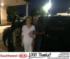https://flic.kr/p/MqmSJG | #HappyBirthday to Debra from Angela Williams at Southwest Kia Mesquite! | deliverymaxx.com/DealerReviews.aspx?DealerCode=VNDX