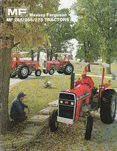1978 - The company's first compact tractor, the Massey Ferguson 205, is introduced. In the same year, #MasseyFerguson pioneers the electronic 3-point hitch. tafe.com | tafecafe.org