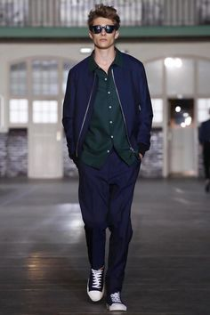 AMI Alexandre Mattiussi Menswear Spring Summer 2015 Paris - NOWFASHION