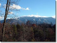 Appalachian Splendor in Gatlinburg, Tennessee: Winter View of the Smokies