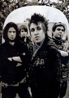 Papa Roach: If you haven't listened to them, listen to 'Burn'. You WILL become obsessed! They ROCK!