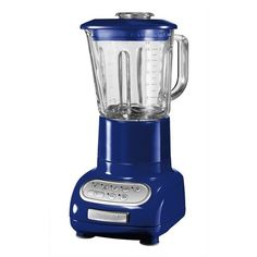 KitchenAid Blender Cobalt Blue ($255) ❤ liked on Polyvore featuring home, kitchen & dining, small appliances, kitchenaid blender, ice crusher blender, glass blender, kitchenaid small appliances and heavy duty blender