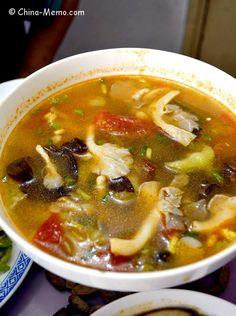 Chinese Tomato & Mushroom Soup. www.china-mmeo.com #recipe