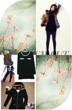 """Kpop Style: F(x) Sulli"" by jaccofashion on Polyvore"