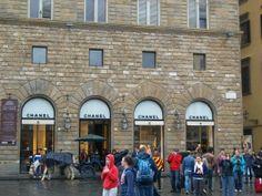 Boutique Chanel - Piazza della Signoria - Firenze