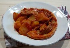 Puntine con patate al sugo - piatto rustico | cucina preDiletta