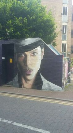 Prince Mural in Manchester England