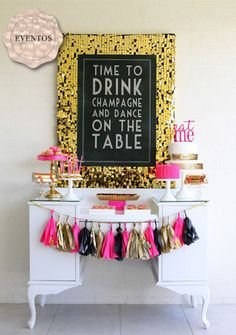 Hosting a bachelorette party for the bride-to-be is now more fun than ever and doesn't have to be debauchery-filled affairs! These are the best bachelorette party themes, crafts, activities, games and sweet treats to help you plan and host a memorable ba… Bachlorette Party, Bachelorette Parties, Bachelorette Party Signs, Bachelorette Weekend, Adult Party Themes, Adult Party Decorations, 21st Party Themes, Pink Decorations, 40th Birthday Decorations