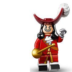 Lego Minifigure Serie Disney, Capitan Garfio