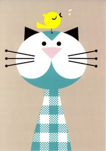 I like calico cats, but gingham kitties would be awesome!                                                                                                                                                                                 More