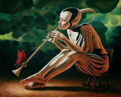 Michael Cheval, 1966 ~ Surrealist painter