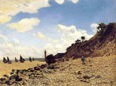 Artify Collections - The Beach at Honfleux By Claude Monet, $113.56 (http://artifycollections.com/the-beach-at-honfleux-by-claude-monet/)