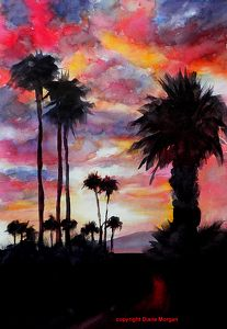 In All Its Glory by Diane Morgan, Watercolor