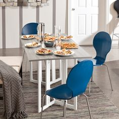 Holly & Martin Driness Drop Leaf Table - Overstock™ Shopping - Great Deals on Holly & Martin Dining Tables Outdoor Dining Furniture, Bar Furniture, Furniture Makeover, Furniture Outlet, Online Furniture, Garden Furniture, Furniture Design, Folding Furniture, Trestle Dining Tables