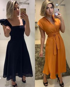Meninas 😍 to apaixonada nos looks da @jmmodaseimport , sigam o perfil da loja e confiram cada look maravilhoso 👏🏾👏🏾⤵️ é cada lacre gente 😍✅… Simple Dresses, Beautiful Dresses, Casual Dresses, Fashion Dresses, Summer Dresses, Salwar Pattern, Arabic Dress, Girl Fashion, Fashion Looks