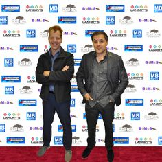 Designers Brad strickland and Martin Ayanegui geting ready for the Season finale of Billion Dollar Buyer with Tilman Fertitta LANDRYS THE POST OAK UPTOWN HOUSTON