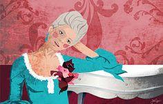 otra versión de Maria Antonieta by me!
