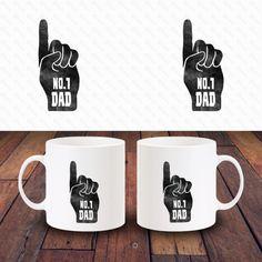 Father's Day 11oz Ceramic Coffee Tea Mug Design 06