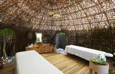 Spa. Treatment room. Six Senses Laamu, Maldives. © Six Senses Resorts & Spas